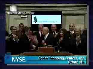 Jerks at the Closing Bell -- NYSE